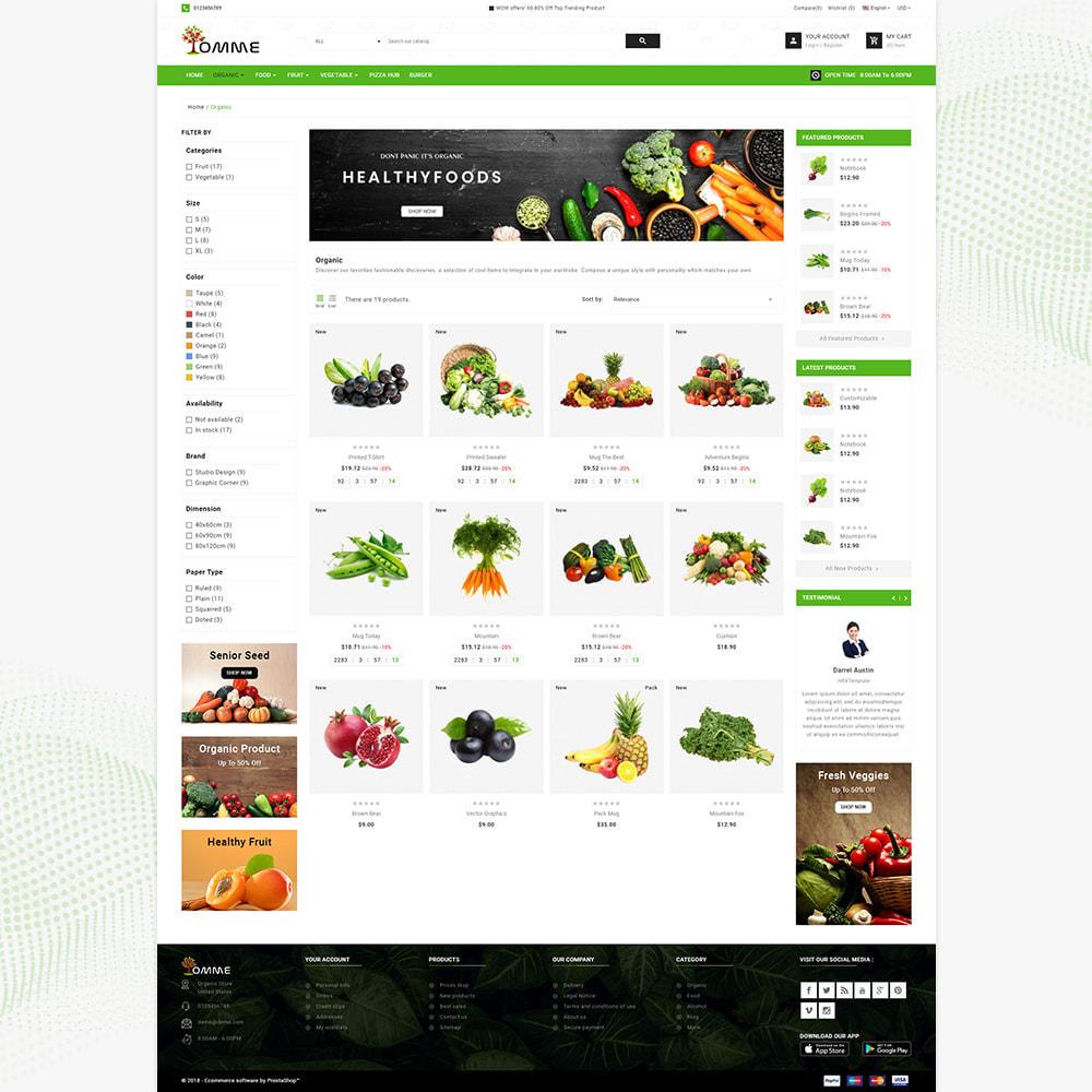 theme - Здоровье и красота - Indian Organic – Organic Super Store - 3