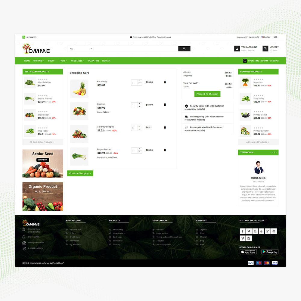 theme - Здоровье и красота - Indian Organic – Organic Super Store - 5