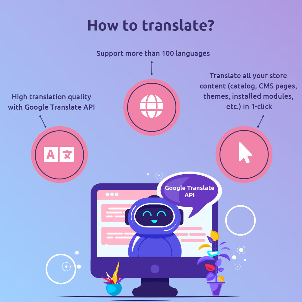 module - International & Localization - G-Translate: Translate entire PrestaShop easily! - 3