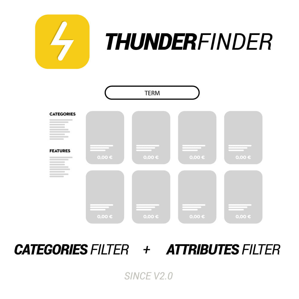module - Recherche & Filtres - Ultra fast search. MooFinder is now ThunderFinder - 1