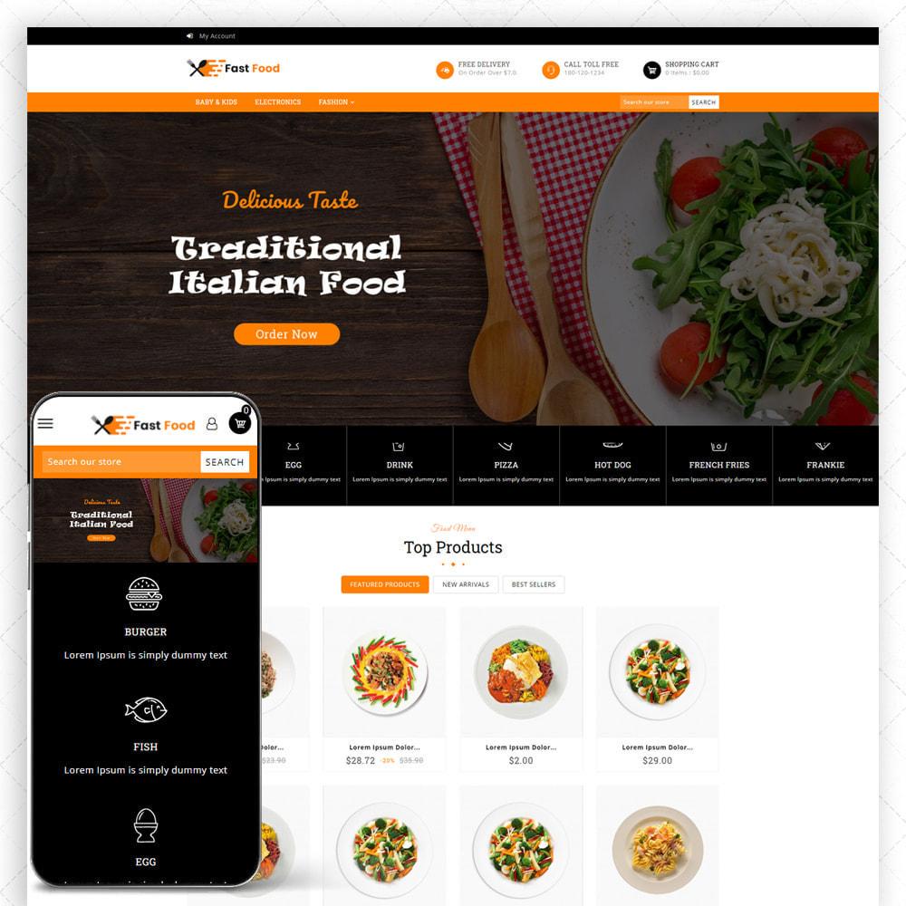theme - Food & Restaurant - Fast Food - 1