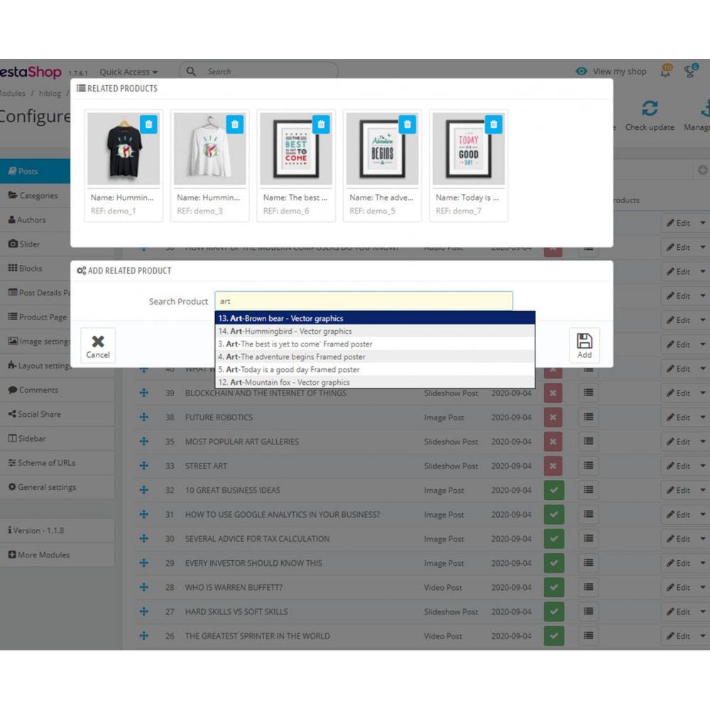 module - Blog, Fórum & Notícias - Business Blog Pro - 15