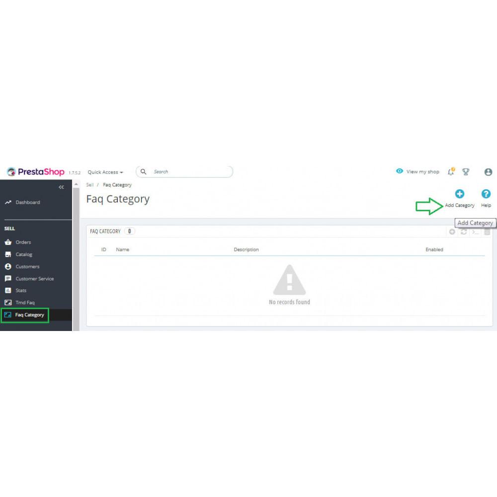 module - FAQ (Frequently Asked Questions) - Advance FAQ Module - 9