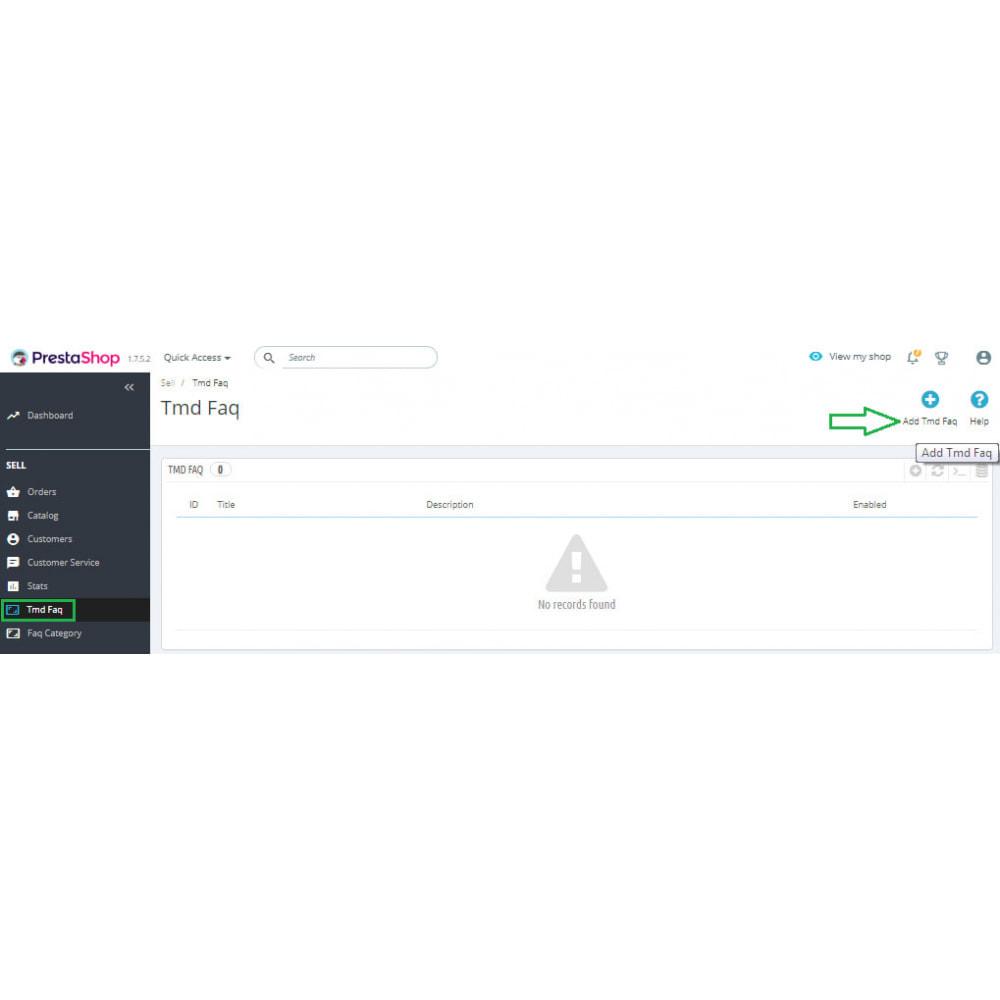module - FAQ (Frequently Asked Questions) - Advance FAQ Module - 12