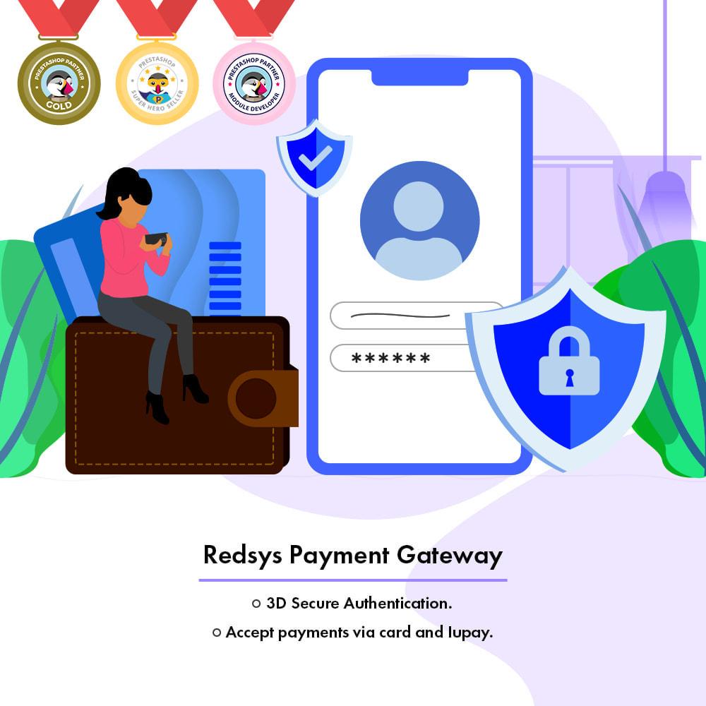 module - Płatność kartą lub Płatność Wallet - Redsys Payment Gateway - 1