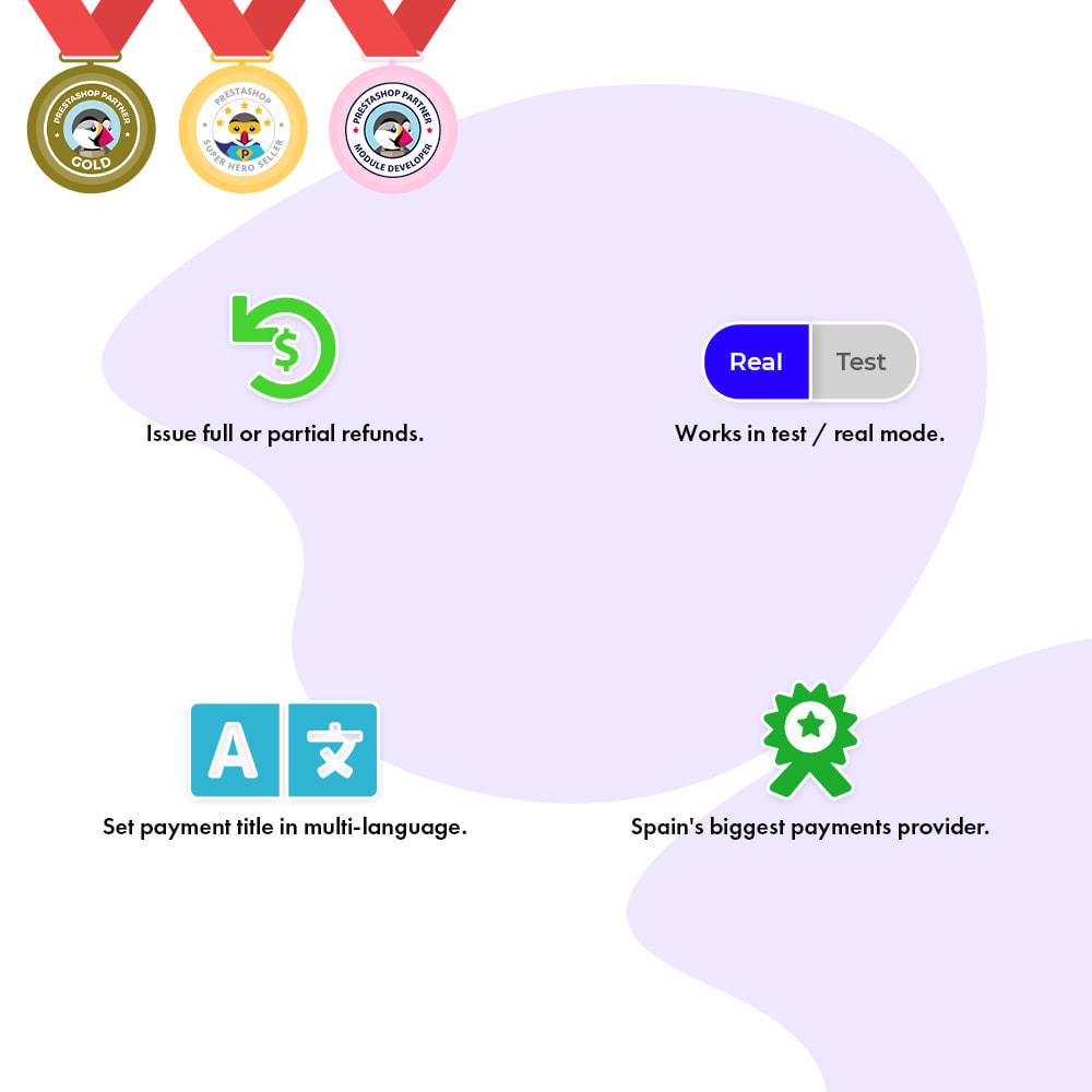 module - Płatność kartą lub Płatność Wallet - Redsys Payment Gateway - 3