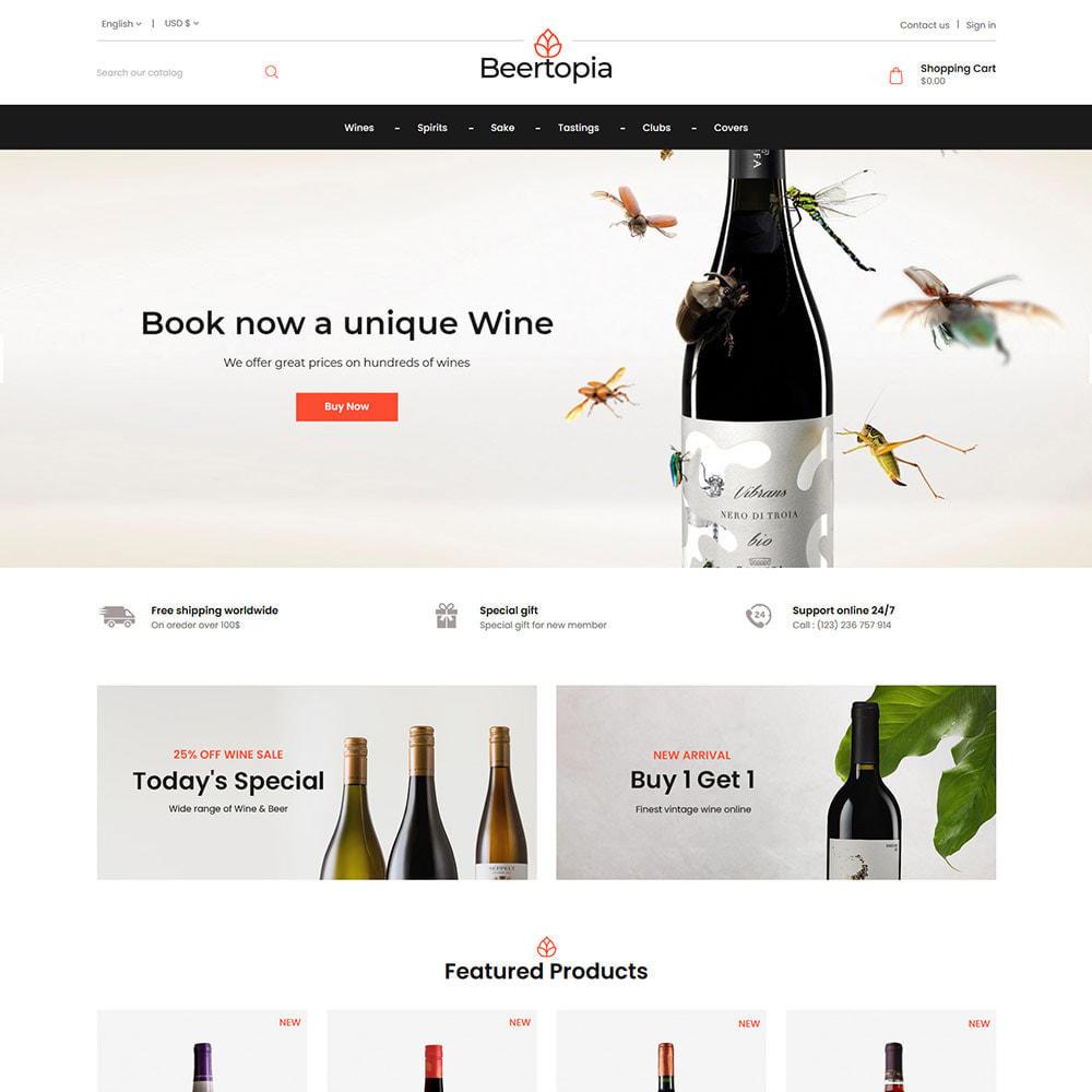 theme - Bebidas y Tabaco - Beertopia Alcohol - Best Wine Store - 1