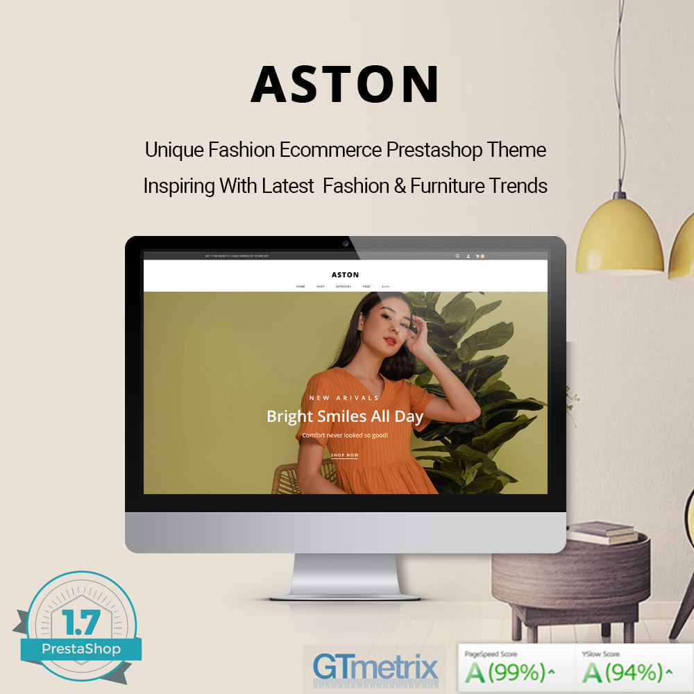 theme - Fashion & Shoes - Aston - Fashion Store & Furniture Shop - 2