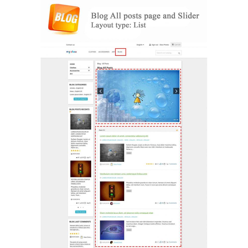 module - Blog, Forum & Actualités - Blog PRO + Programme de fidélité - 1