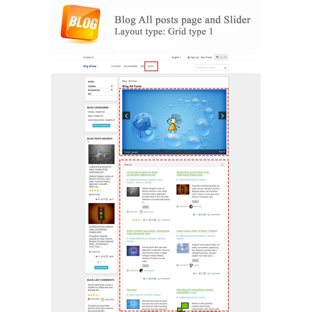 module - Blog, Forum & Actualités - Blog PRO + Programme de fidélité - 2