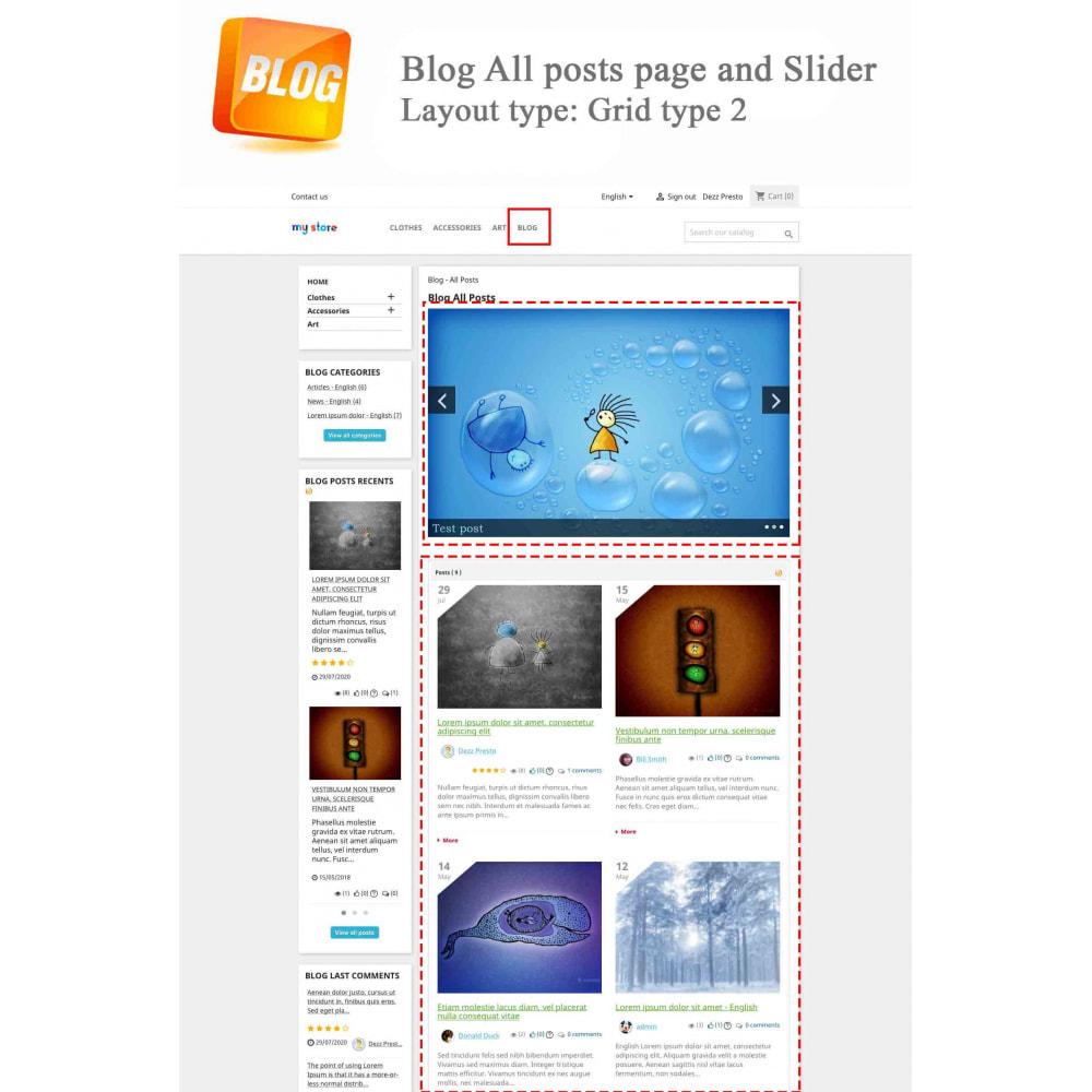 module - Blog, Forum & Actualités - Blog PRO + Programme de fidélité - 3