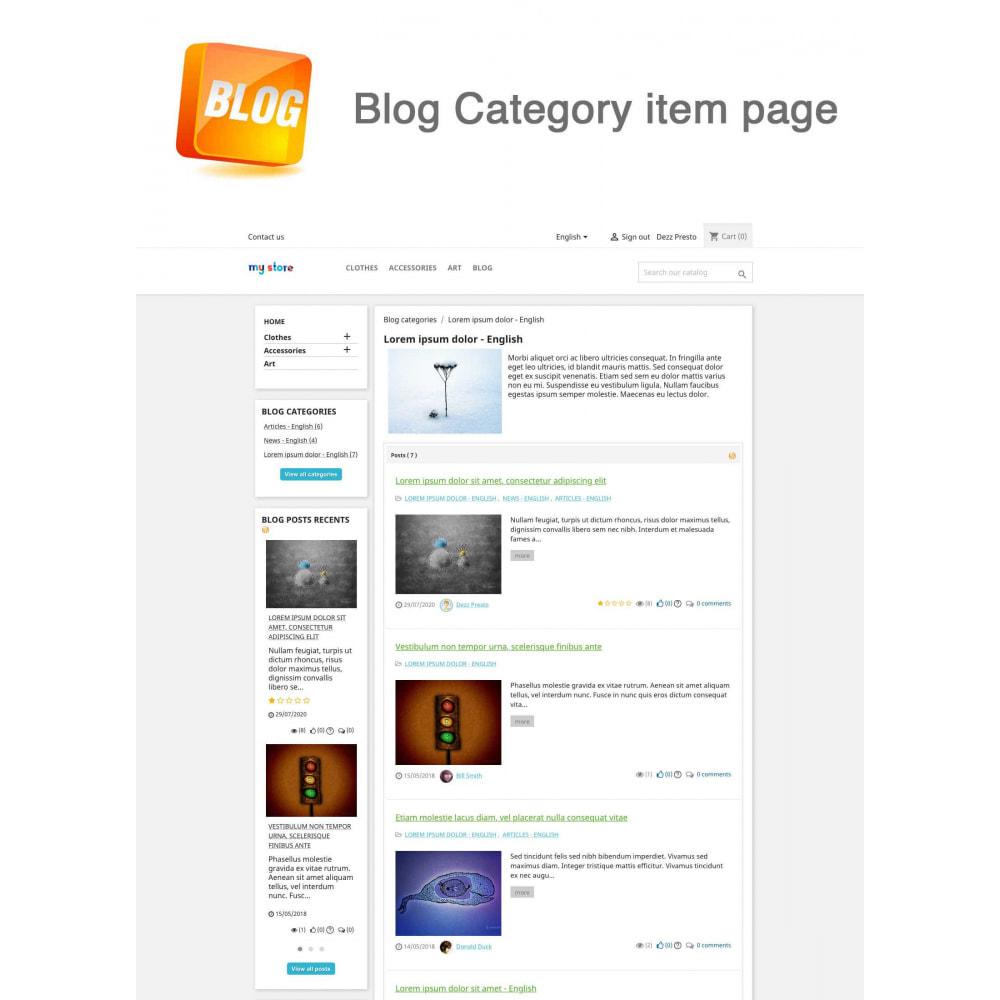 module - Blog, Forum & Actualités - Blog PRO + Programme de fidélité - 17