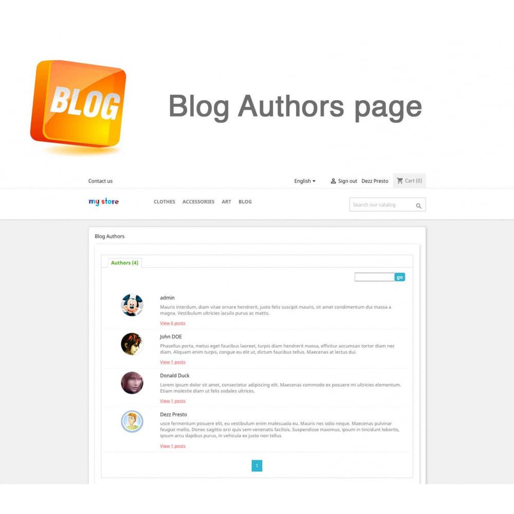 module - Blog, Forum & Actualités - Blog PRO + Programme de fidélité - 21