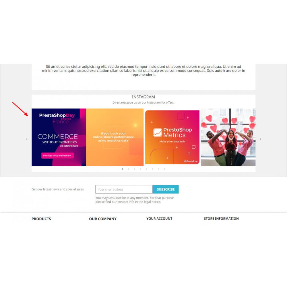 module - Silder & Gallerien - New API Instagram Feed Images - Carousel - 5