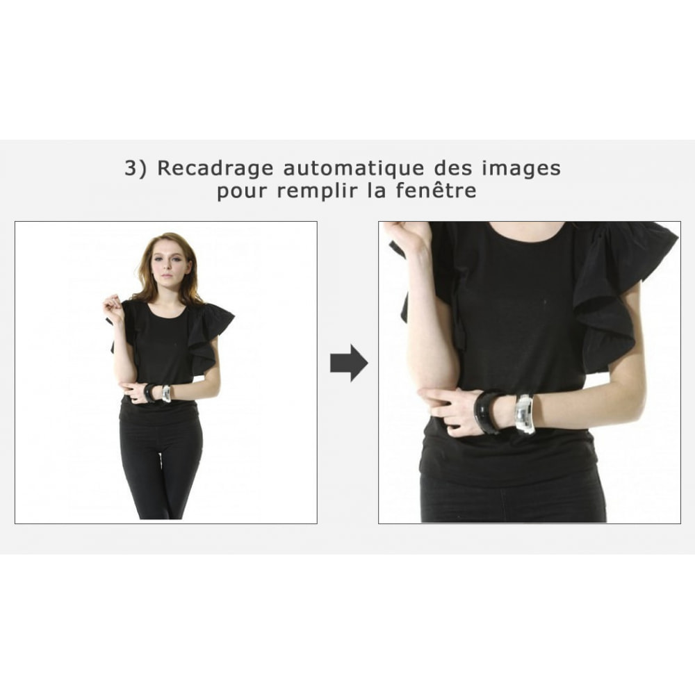 module - Personnalisation de Page - Découpage automatique et recadrage des images - 3