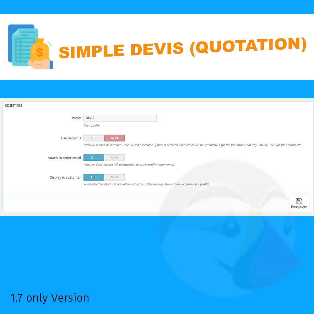 module - Quotes - Simple Devis - 2