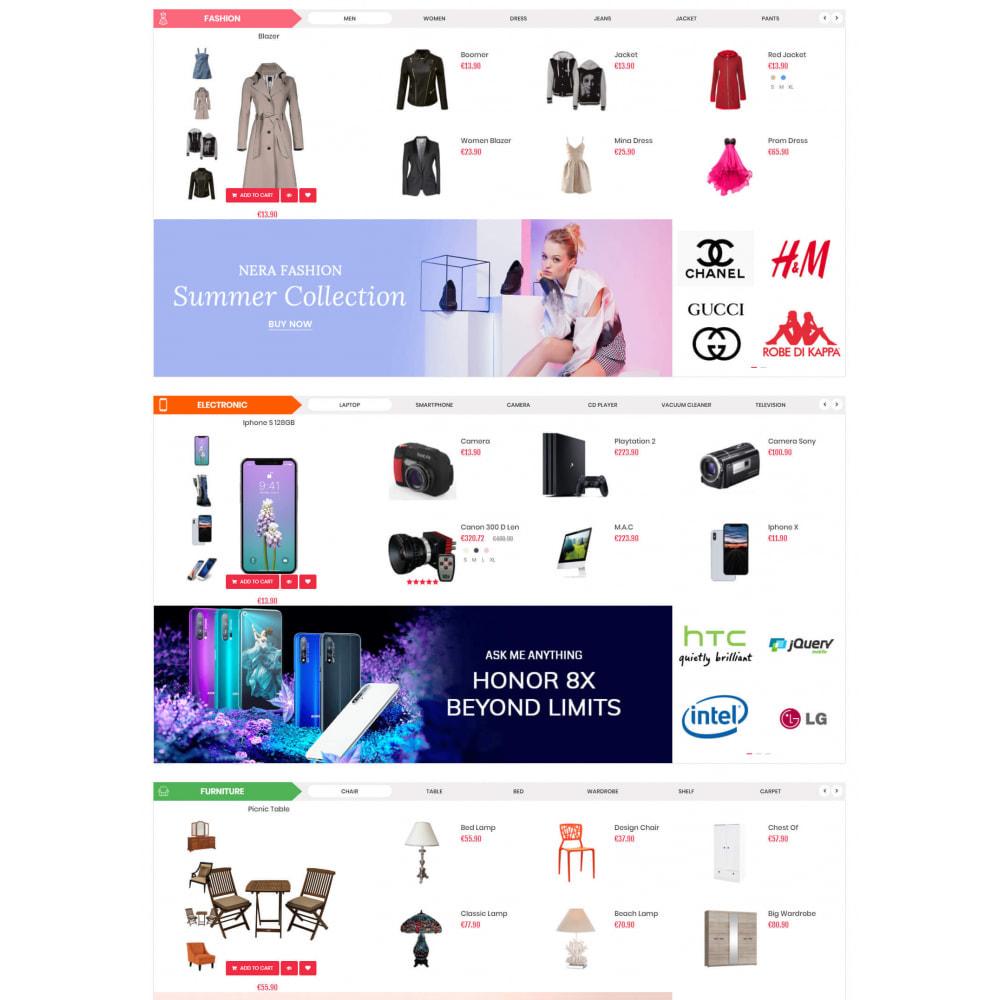 theme - Elektronika & High Tech - Supermarket & Mobile App Layout - 3