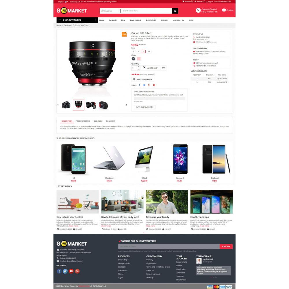 theme - Elektronika & High Tech - Supermarket & Mobile App Layout - 7