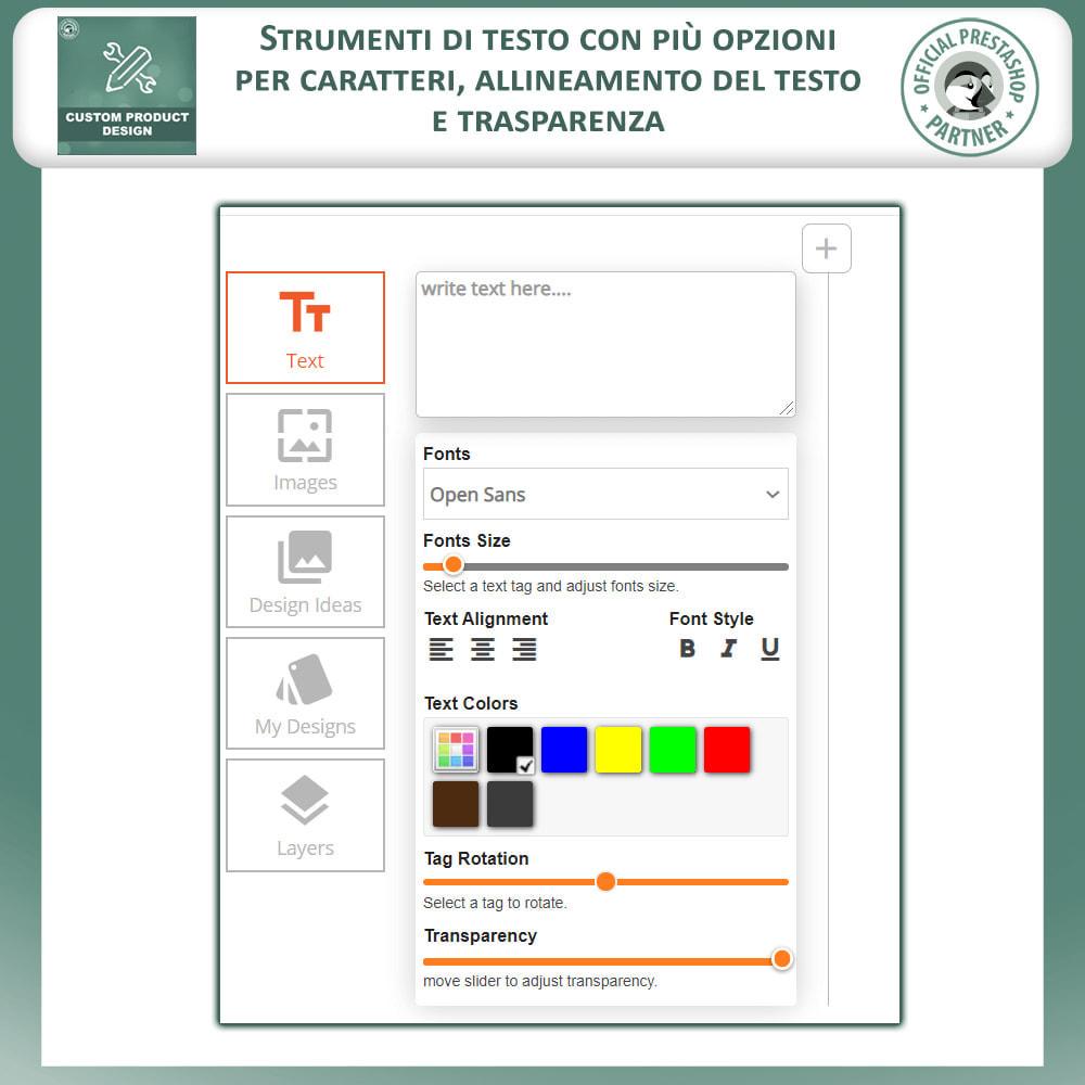 module - Combinazioni & Personalizzazione Prodotti - Designer Prodotto Personalizzato, Personalizza Prodotto - 4