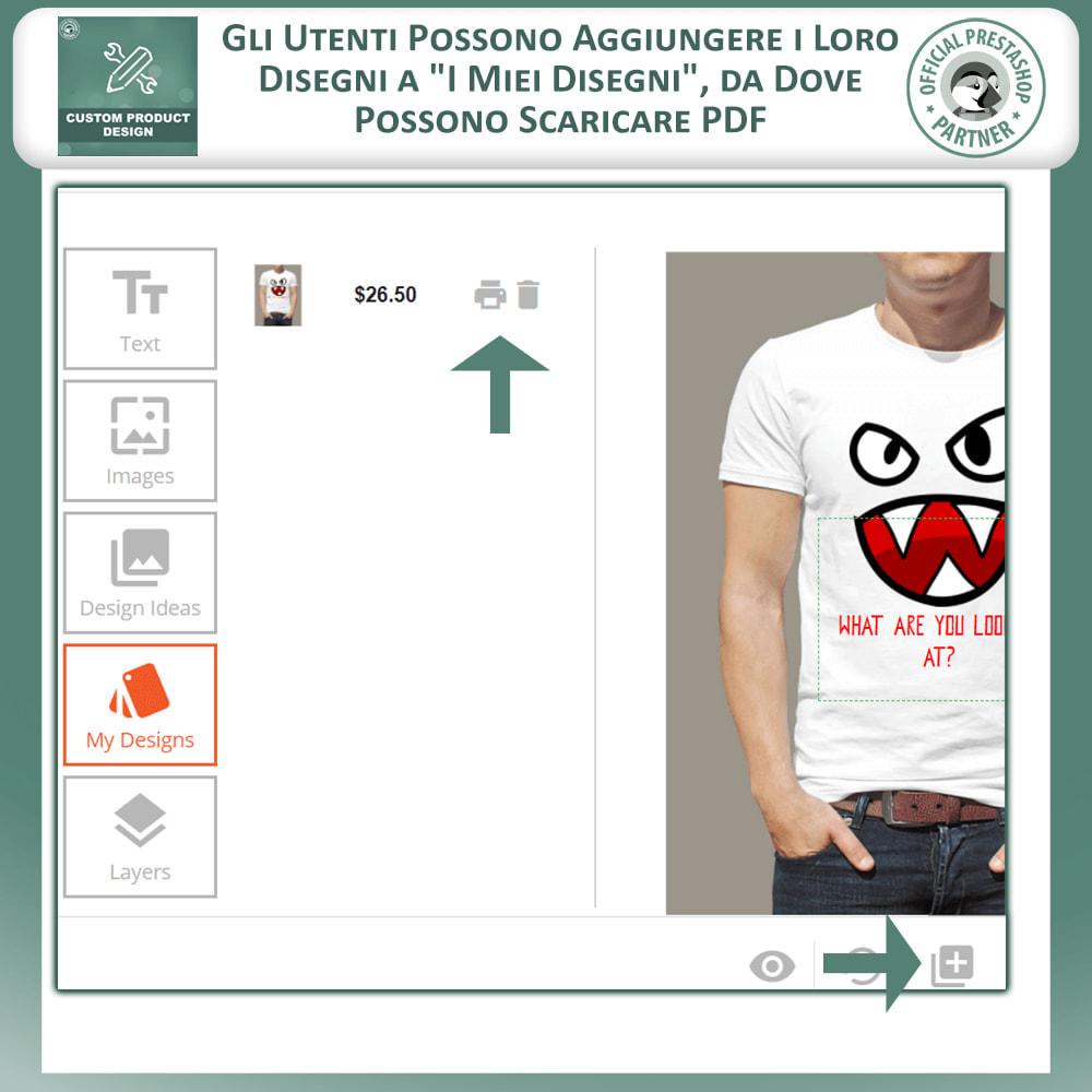 module - Combinazioni & Personalizzazione Prodotti - Designer Prodotto Personalizzato, Personalizza Prodotto - 6