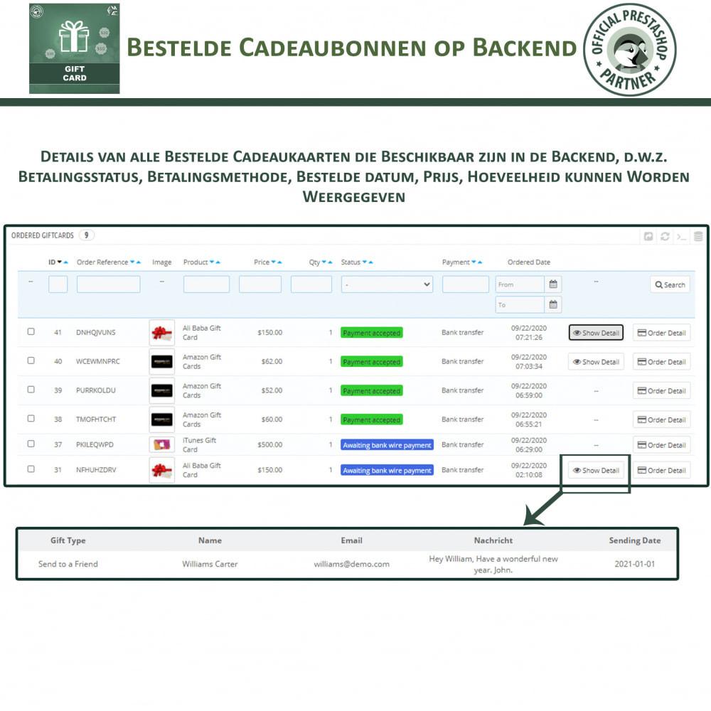 module - Verlanglijst & Cadeaubon - Cadeau Bon - 16
