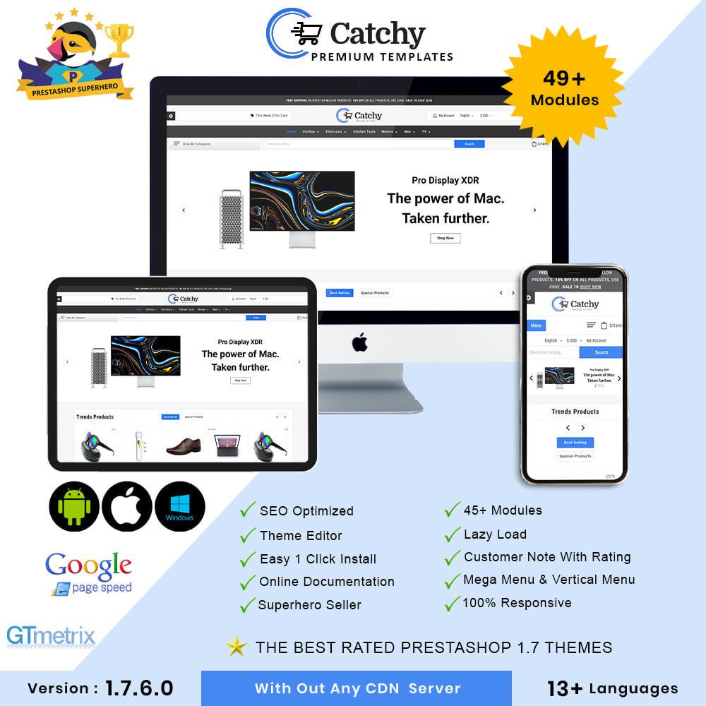 theme - Elektronik & High Tech - Catchy Electronic Store - 1