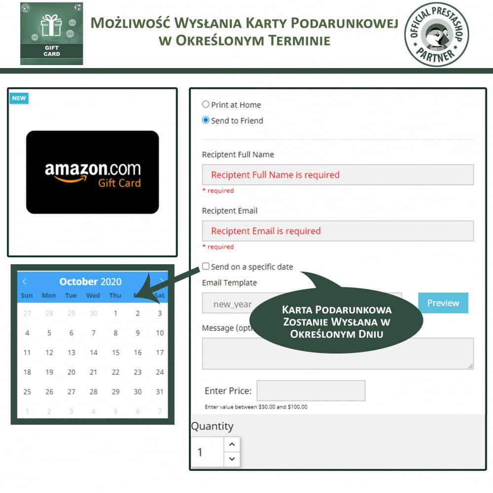 module - Lista życzeń & Karta podarunkowa - Karta Podarunkowa - 4