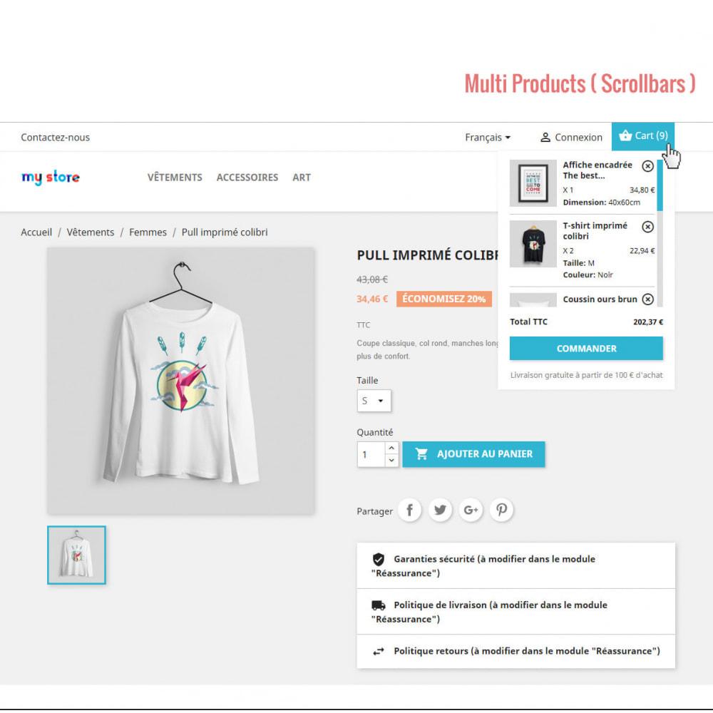 module - Personnalisation de Page - Panier d'achat Ajax ( Mini-Panier ) - 2