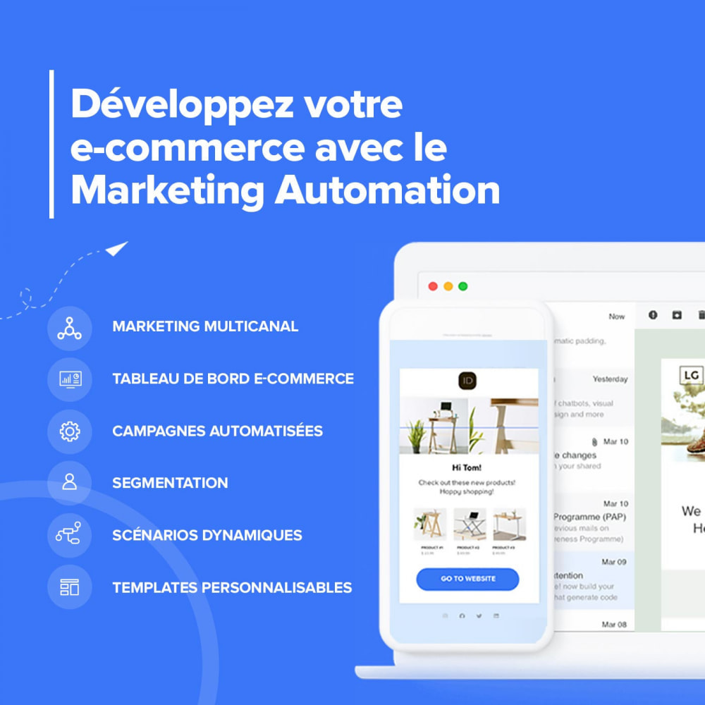 module - Remarketing & Paniers Abandonnés - Module Carts Guru - Marketing automation multicanal - 2