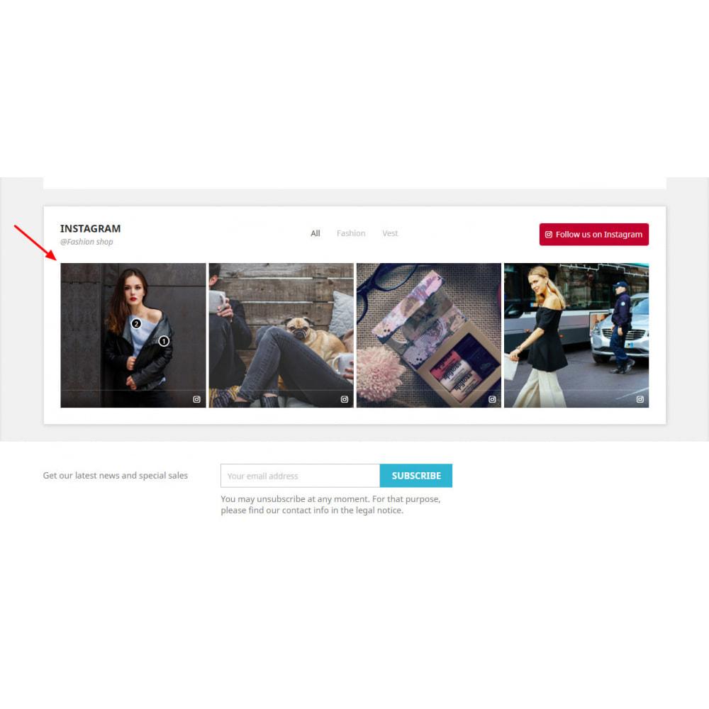 module - Produits sur Facebook & réseaux sociaux - Social Feed Slider - Instagram New API - 3