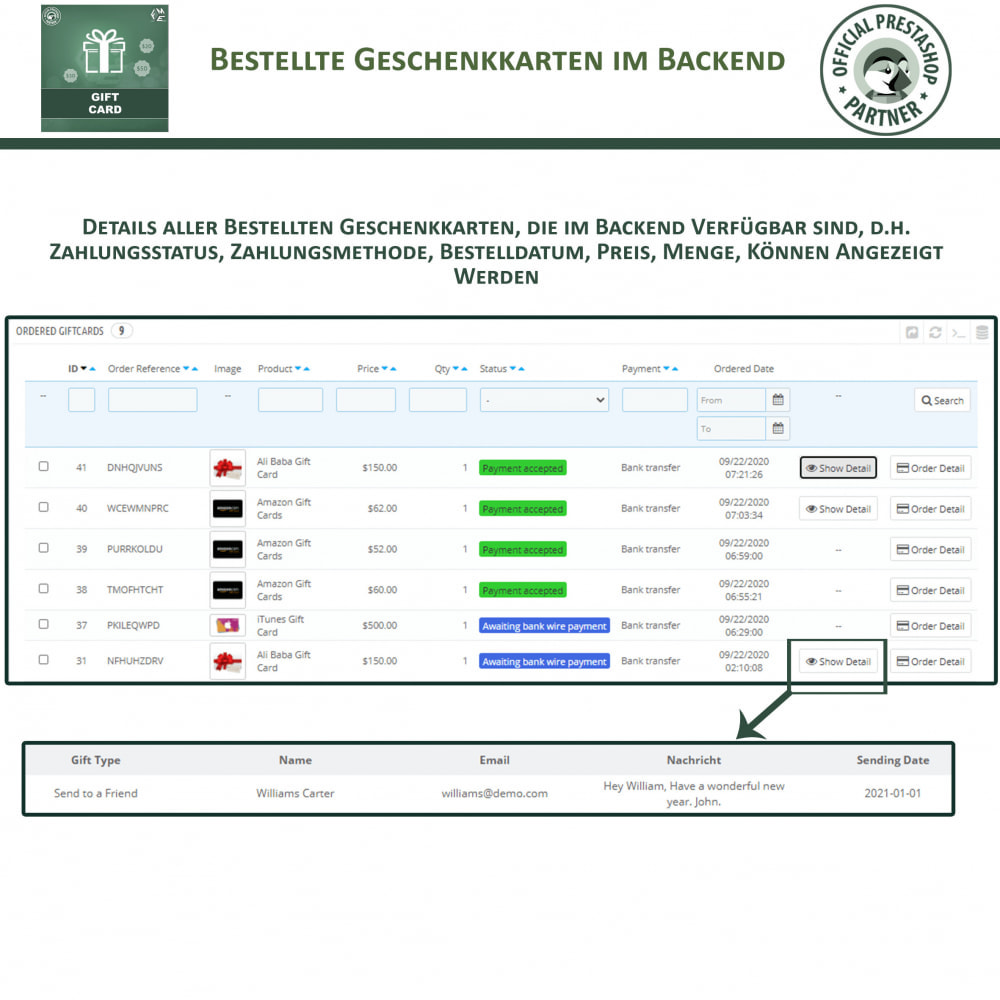 module - Wunschzettel & Geschenkkarte - Geschenk-Karten - 16