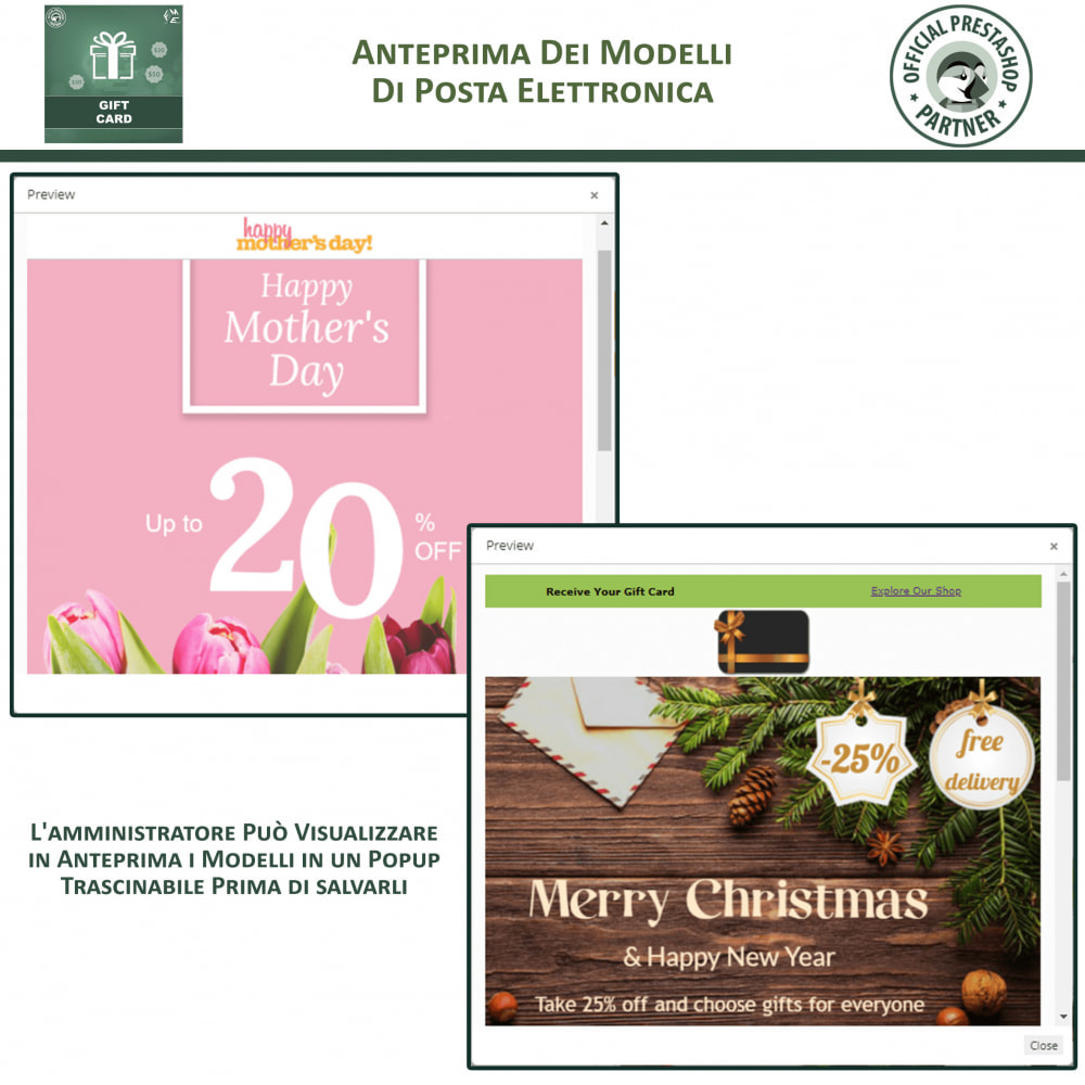 module - Whishlist & Gift Card - Carta Regalo - 15