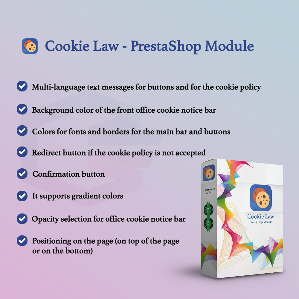 module - Legal - Cookie Law - 2