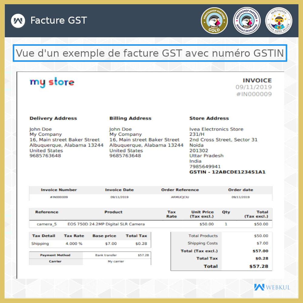 module - Comptabilité & Facturation - GST - Retours et factures - 4