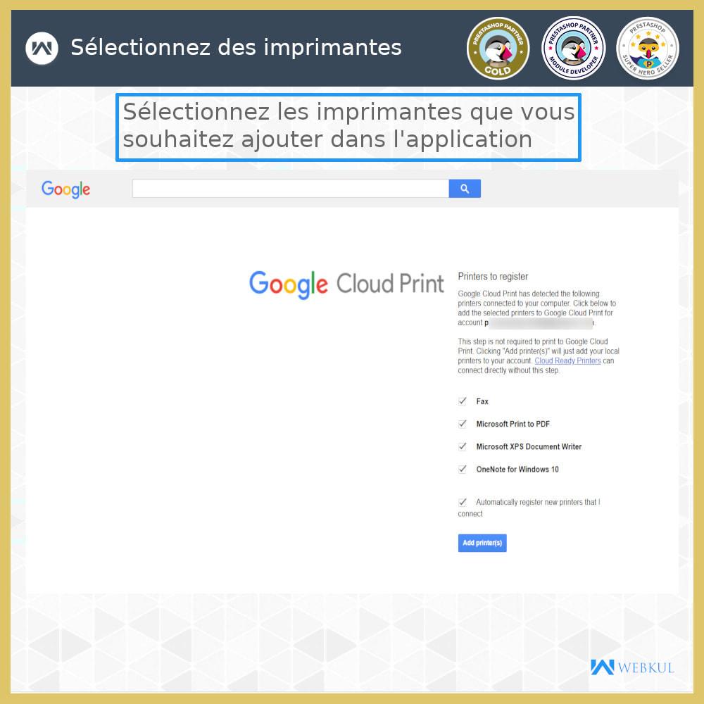module - Préparation & Expédition - Google Cloud Print - 6