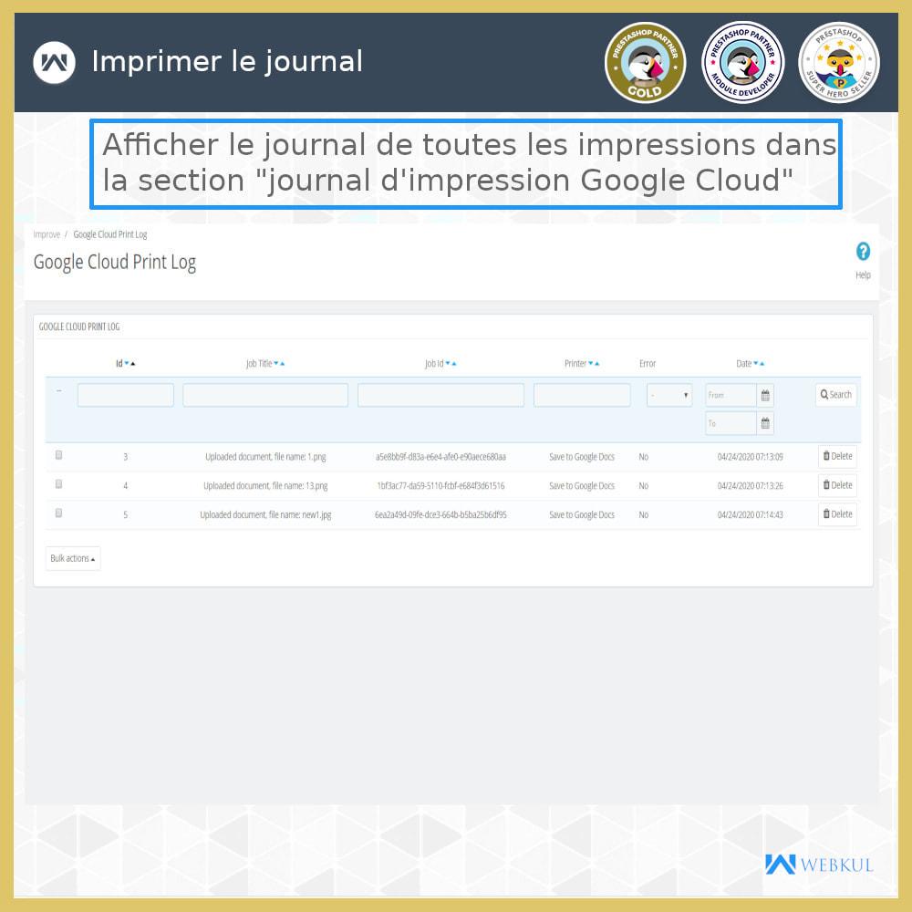 module - Préparation & Expédition - Google Cloud Print - 10