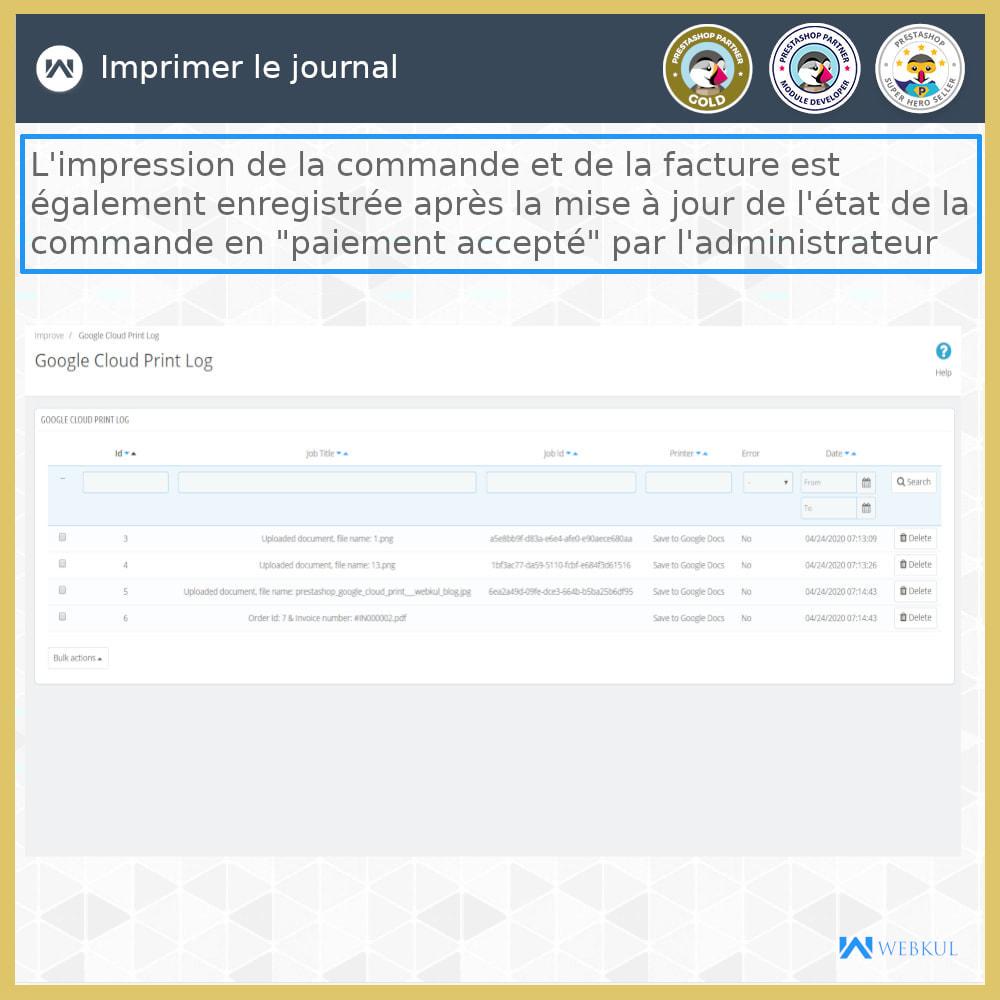 module - Préparation & Expédition - Google Cloud Print - 11