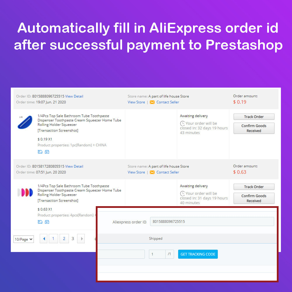 module - Dropshipping - Aliexpress Dropshipping PRO - Autosync - 11