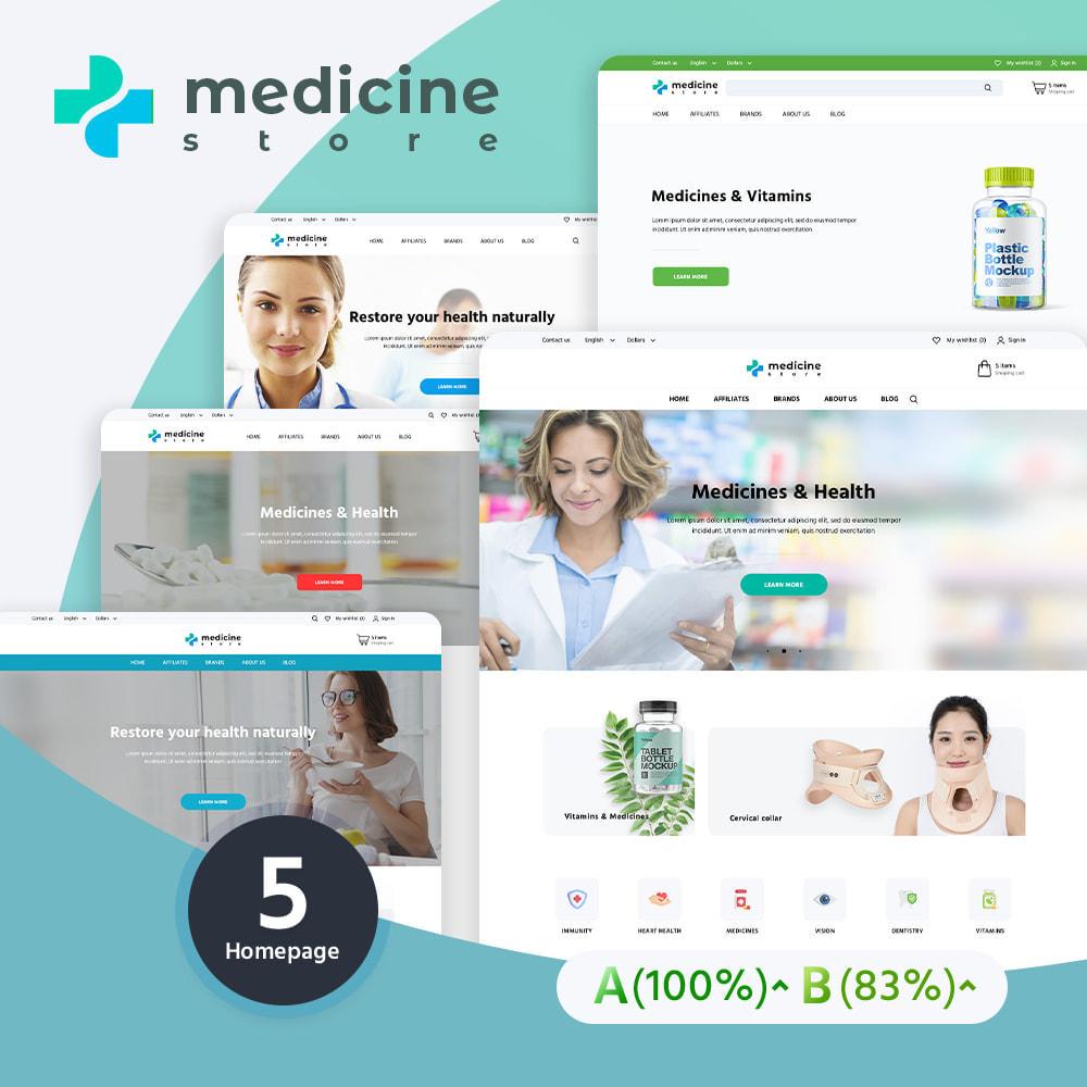 theme - Zdrowie & Uroda - Medicine - 1