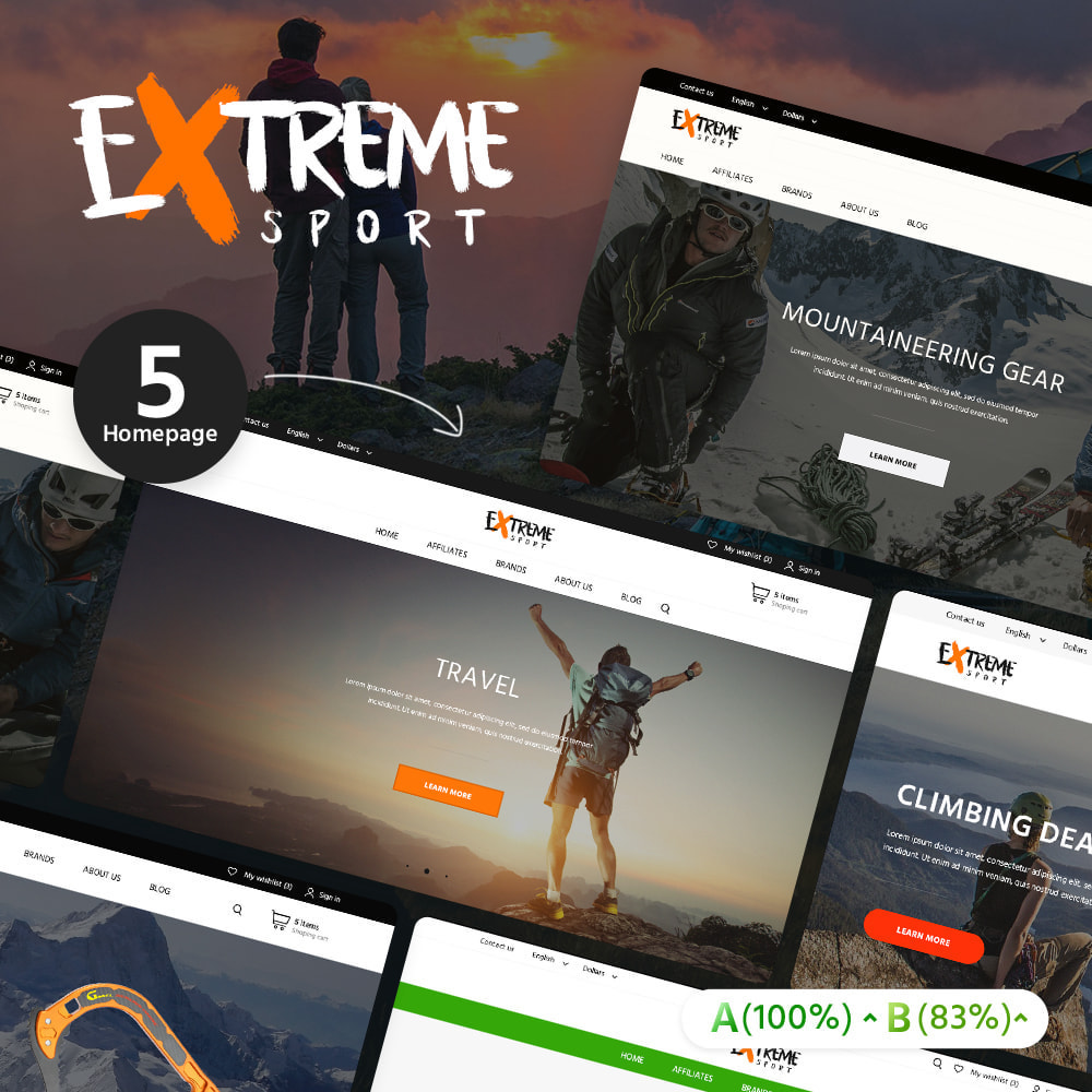 theme - Sport, Loisirs & Voyage - Extreme Sport - 2