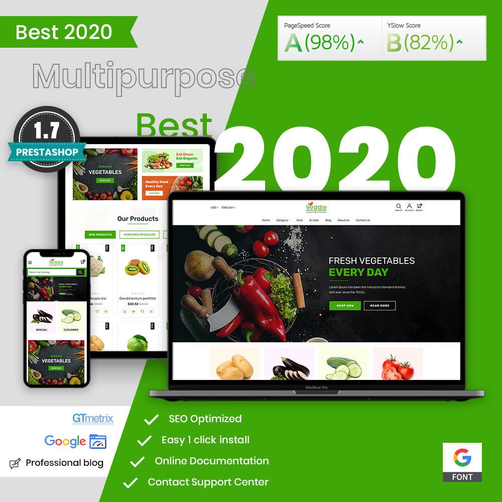 theme - Żywność & Restauracje - Veggie - fresh Organic Food Store - 1