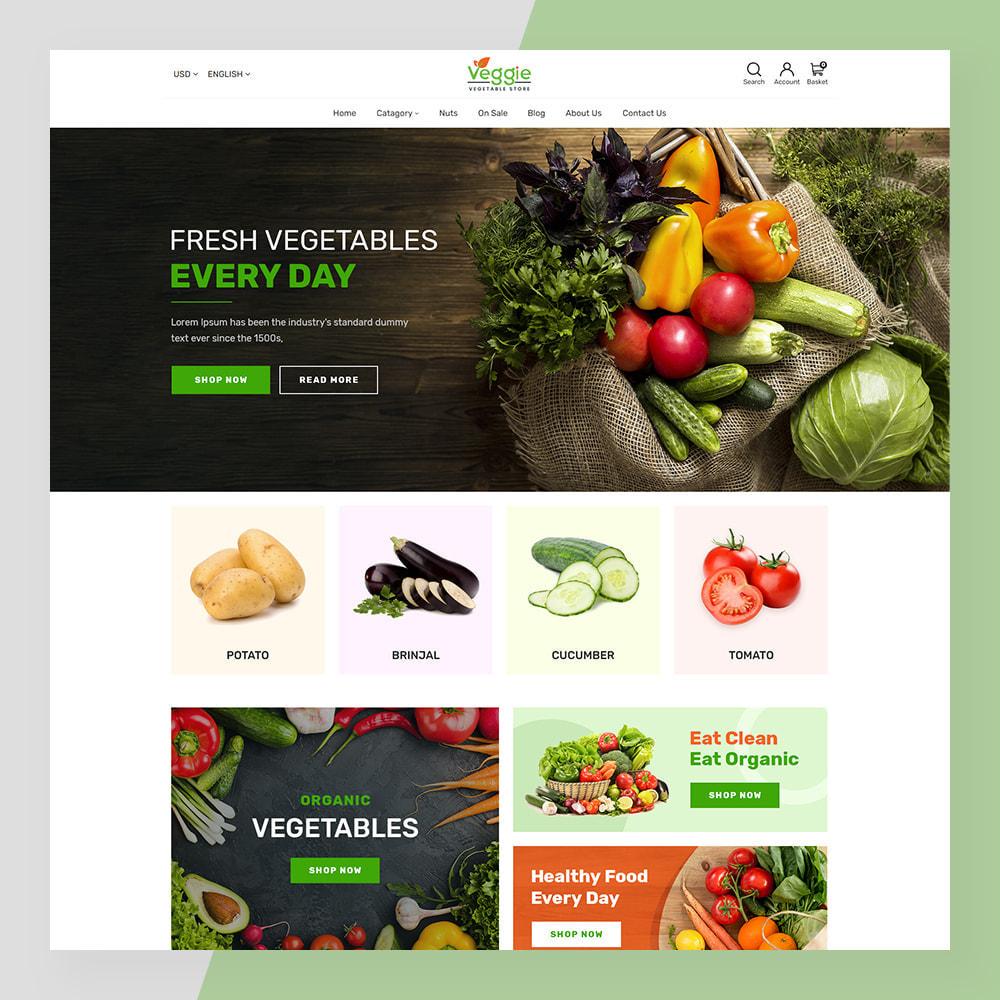 theme - Żywność & Restauracje - Veggie - fresh Organic Food Store - 2
