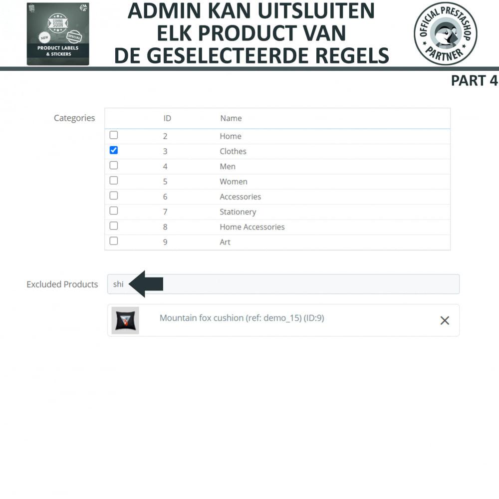 module - Badges & Logos - Product Labels en Stickers - 16