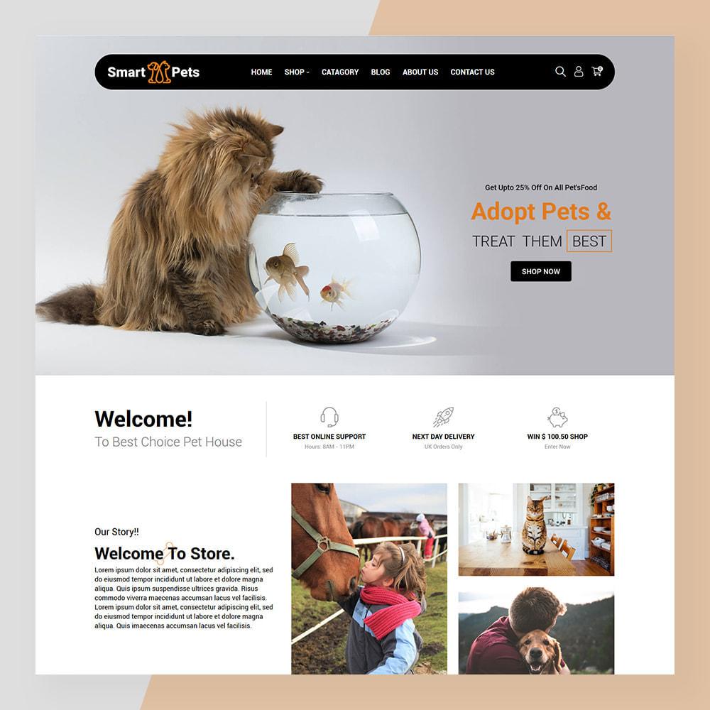 theme - Animais - Smart Pets - Minimal Pet Store - 2