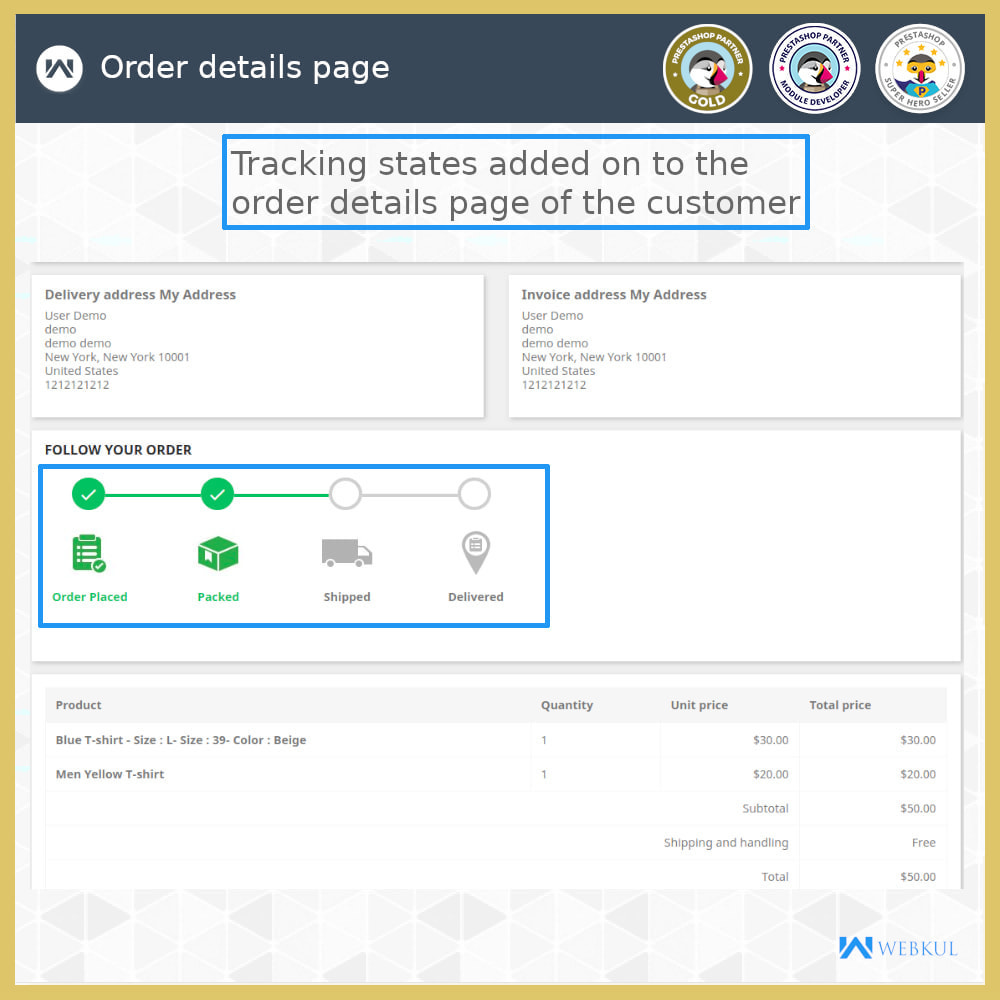 module - Delivery Tracking - Order Tracking - 3
