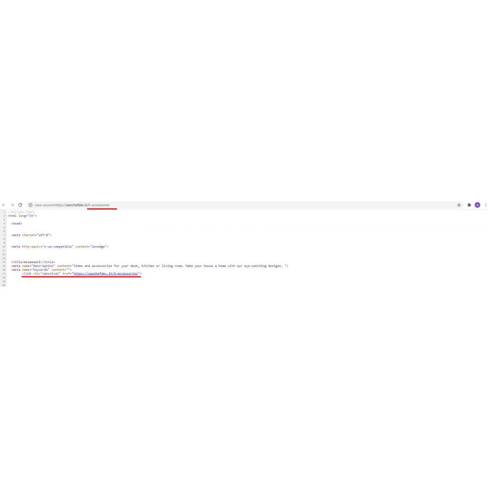 module - SEO (Indicizzazione naturale) - SEO Canonical & Hreflang - 6