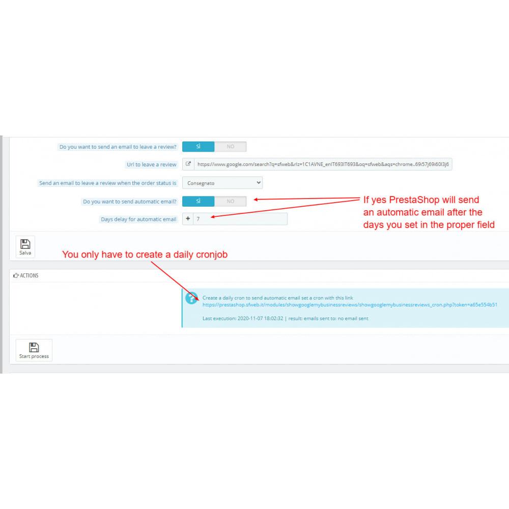 module - Klantbeoordelingen - Embed Google My Business Reviews - 5
