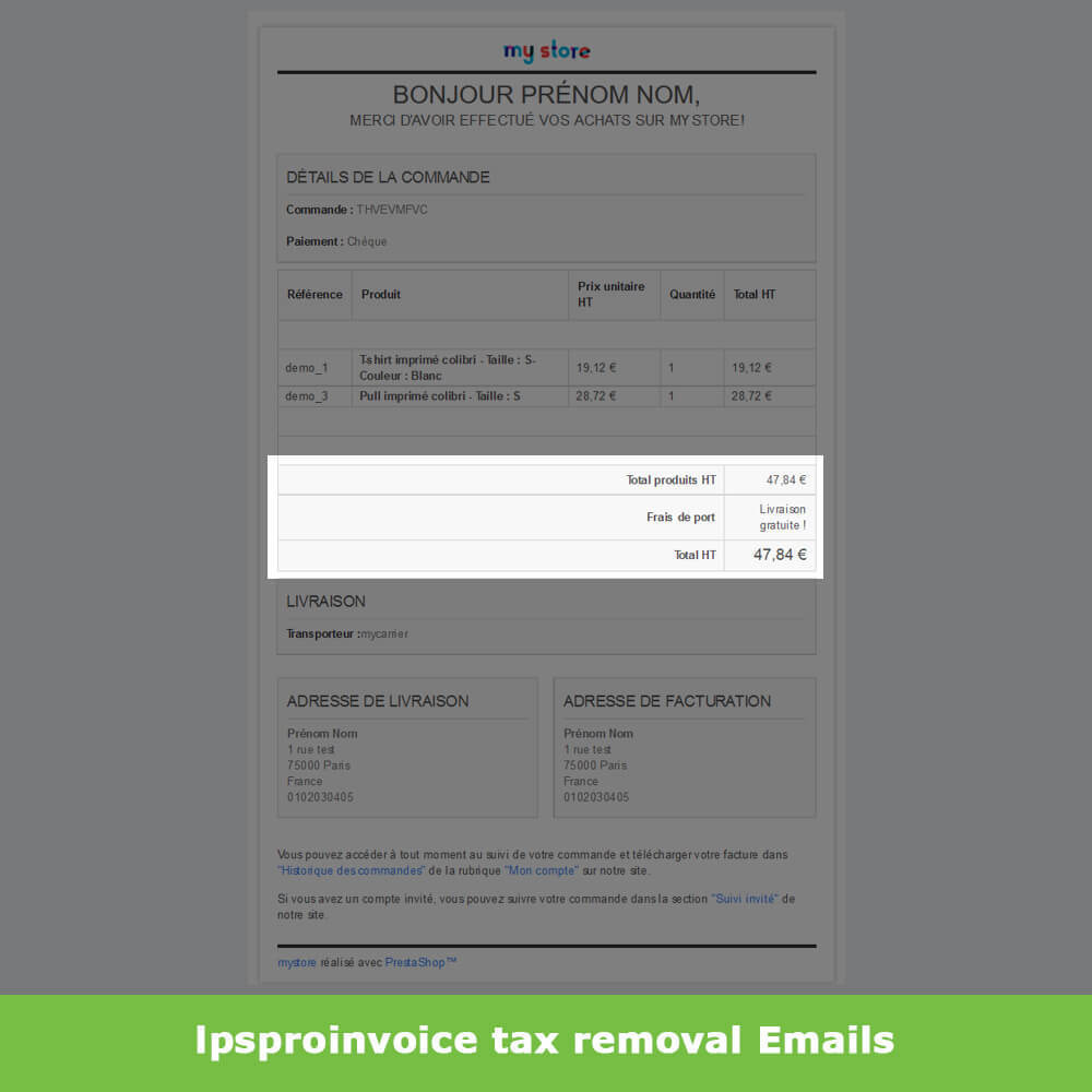 module - Buchhaltung & Rechnung - B2B Invoicing - Remove Tax (without VAT / Tax excl) - 8