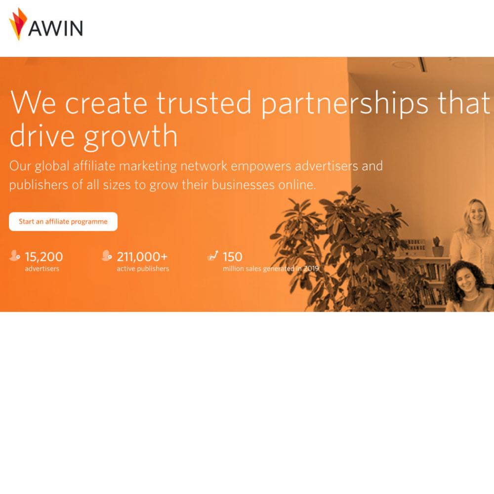 module - Indicizzazione a pagamento (SEA SEM) & Affiliazione - AWIN Affiliate Marketing Network Pro - 3