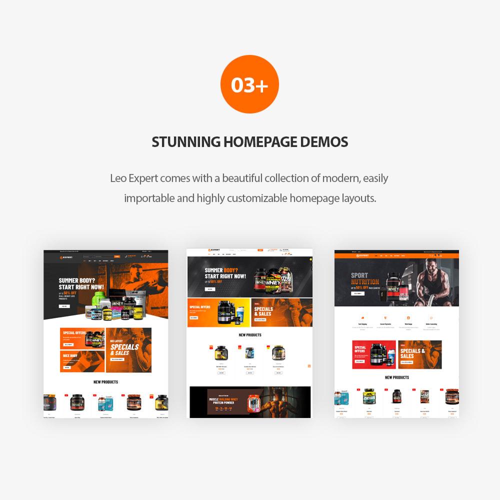 theme - Desporto, Actividades & Viagens - Leo Expert - Sport And Fitness Online Store - 2